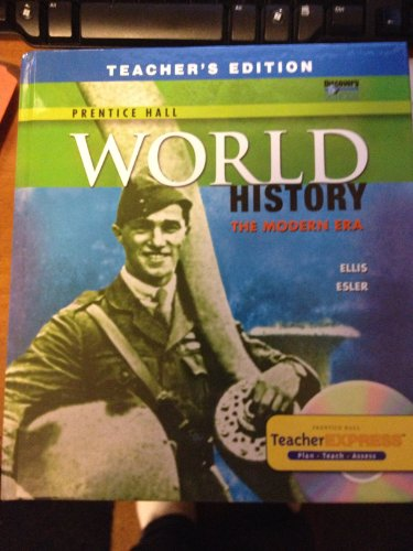 World History the Modern Era Teachers Edition (World History The Modern Era Ellis Esler)