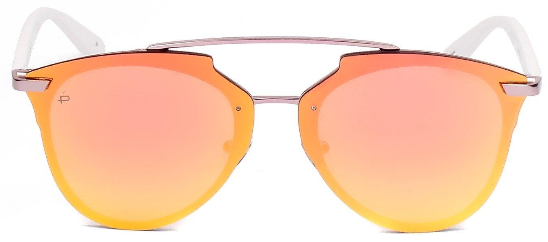 """ویکالا · خرید  اصل اورجینال · خرید از آمازون · PRIVÉ REVAUX ICON Collection """"The Benz"""" Designer Geometric Sunglasses wekala · ویکالا"""