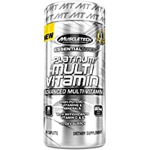 MuscleTech Multivitamin, Multi Vitamin for Adults, 90 caplets(packaging may vary)