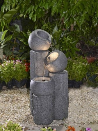 Vision Fountain With Led Lights
