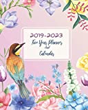 """2019-2023 Five Year Planner And Calendar: 60 Months Planner and Calendar Agenda And Organizer 8"""" x 10"""" with holidays"""