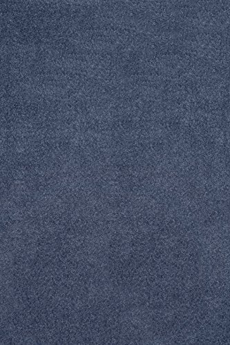 (Home Cool Solid Colors Wind Dancer Collection Area Rugs Petrol Blue - 8'x10')