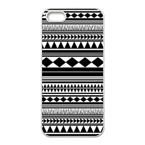 Custom Aztec Patterns Iphone 5,5S Phone Case, Aztec Patterns DIY Cell Phone Case for iPhone 5,iPhone 5s at Lzzcase