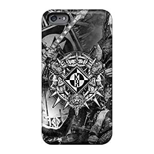 Fashionable Style Case Cover Skin For Iphone 6- Machine Head Band