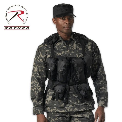 Lancer Tactical Youth Size Cross Draw Vest w/Holster
