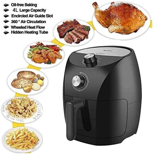 UNU_YAN Moderne Simplicité Fryer Air Four, Oilless Hot Air Fryer Four Cuisinière avec minuterie, contrôle de température, Amovible Panier, Fry santé avec 80% Moins de Gras