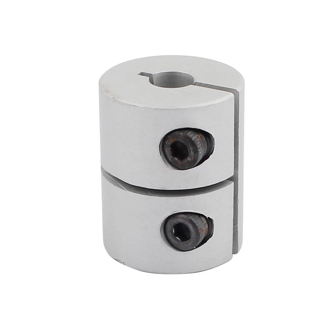 uxcell 5mm to 6.35mm Shaft Coupling 25mm Length 20mm Diameter Coupler Aluminum Alloy Joint Motor for 3D Printer CNC Machine DIY Encoder