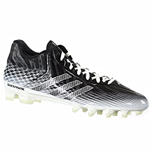Adidas Crazyquick Mens Football Cleats 10.5 Black-White