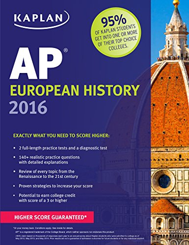 Pdf Young Adult AP European History 2019-2020: Online + Book (Kaplan Test Prep)