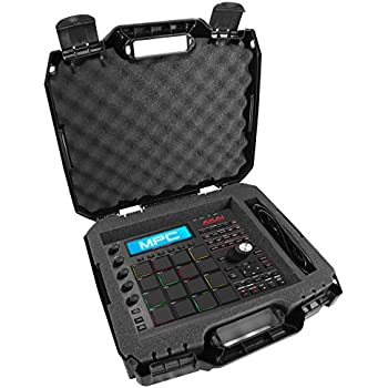 casematix armorxl 17 inch carry case compatible with keypad drum controllers by akai. Black Bedroom Furniture Sets. Home Design Ideas