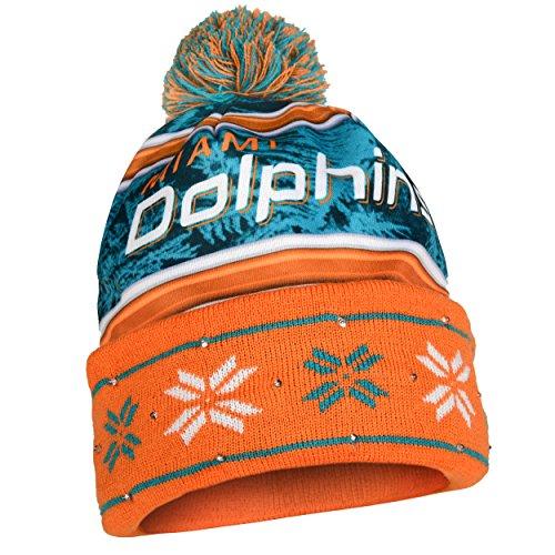 94e7b29885c Miami Dolphins Light Up Beanie – Football Theme Hats
