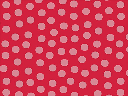 Berry Twist Dot Recycled 240~20''x30'' Sheets Tissue Prints (240 Sheets) - WRAPS-P1317 by Miller Supply, Inc.