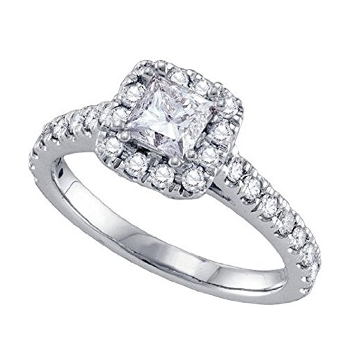 0.44 Ct Princess Diamond - 7