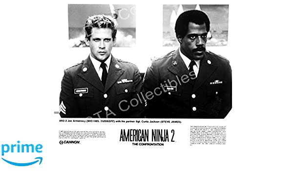 MOVIE PHOTO: AMERICAN NINJA 2 THE CONFRONTATION-1987-BW 8 ...