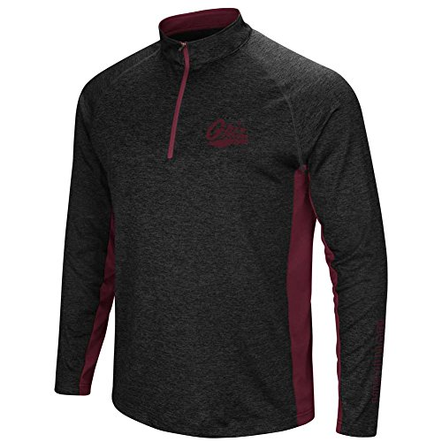 Montana Grizzlies Colosseum Upstart 1/4 Zip Windshirt - Men - L (Zip Pullover Windshirts)