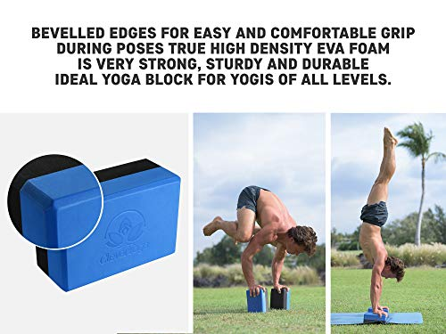 Yoga Kit 7-Piece 1 Mat, Mat Towel, Yoga Blocks, Yoga Strap, Yoga Hand Case Perfect Gift Exercises Yogis and