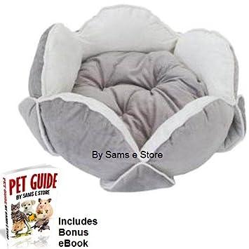 Cachorro Perro Cama acolchada lujo lavable antideslizante en forma de flores Reversible cama por Sams e Store: Amazon.es: Productos para mascotas