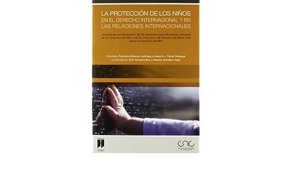 La protección de los niños en el derecho internacional y en las relaciones internacionales: Francisco ALDECOA: 9788497687621: Amazon.com: Books