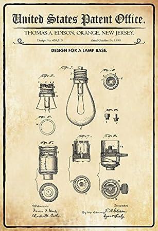 ComCard US Patente - Design for A Lamp Base - Entwurf für eine ...