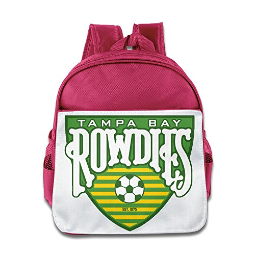 [HYRONE Tampa Bay Logo Rowdies Boys And Girls School Bag For 1-6 Years Old Pink] (Magic Mike Baby Costume)