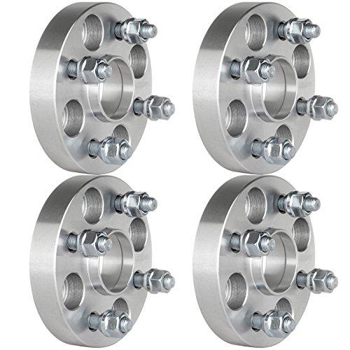ECCPP 4x100 Hub Centric Wheel Spacers 4 lug 1 inch 4x100mm to 4x100mm 54.1mm 4X Fit for Mazda MX3 Mazda Miata Scion xA xB Toyota Echo with 12x1.5 Studs