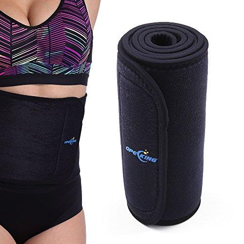 Waist Trimmer Premium Weight Loss Sauna Belt,Belly Fat Burner,Neoprene Latex-Free Stomach AB...