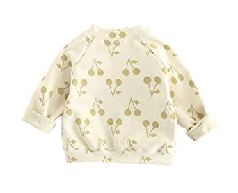 9ea578e7e591 Amazon.com  Baby Toddler Girls Spring Autumn Zipper Cardigan Jacket ...