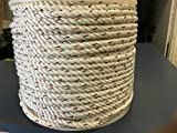 EVERSTRONG Poly Dac Twisted rope, 600 ft in various size 3/16'',1/4'', 5/16'', 3/8, 1/2'', 5/8'', 3/4'',7/8'', 1'', 1-1/8', 1-1/4', 1-1/2'' '', (7/8'')