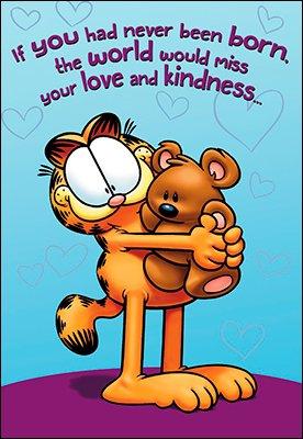 happy birthday garfield Amazon.com: Leaning Tree Garfield   Happy Birthday   Never Been  happy birthday garfield