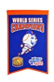 MLB New York Mets WS Champions Banner, One Size