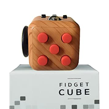 Fidget CubeStarsprairie Upgrade Cube 2th Cool Office Desktop Anxiety Stress Relief Educational Toys