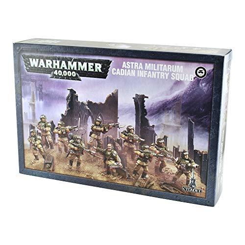 Games Workshop Warhammer 40,000 Astra Militarum Cadian Infantry Squad (Dead Space 3 Best Weapon To Craft)