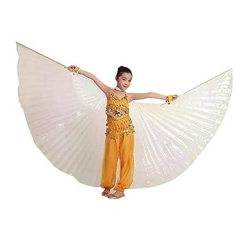 QXLhxuIo Niñas Alas de ángel Egipcio para Danza del Vientre con ...