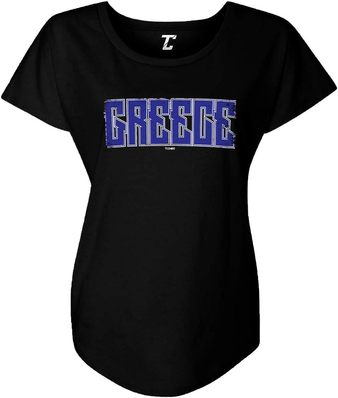 Tcombo Greece - Greek Flag Heritage Pride Women's Dolman