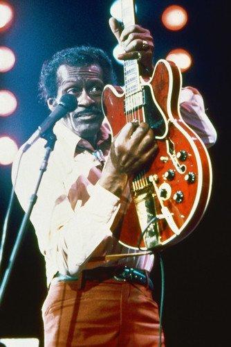 Chuck Berry Concert Poster