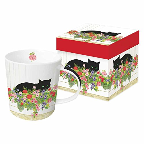 Gift Mug with Black Cat