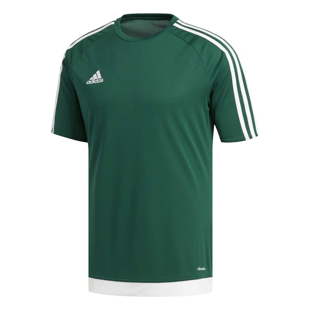 adidas Estro 15 JSY - Camiseta para hombre, color verde opalo / blanco, talla M: Amazon.es: Deportes y aire libre