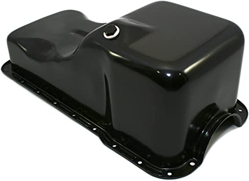 Assault Racing Products A9737P for Ford Small Block Black Drag Style 7qt Oil Pan SBF 260 289 302