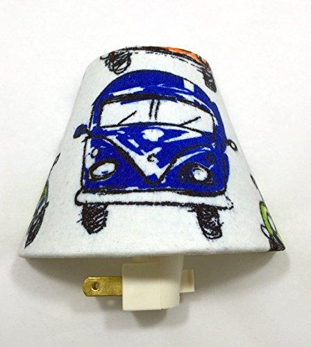 Volkswagen Bus Plug In Night Light / Nursery Decor / Baby Shower Gift / Home Decor / Kid's Room / Lighting / Hallway Light / Housewarming / Bohemian / Hippie