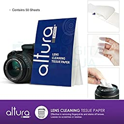Professional Cleaning Set for DSLR Cameras and Sensitive Electronics (Canon, Nikon, Pentax, Sony) with Purosol All Natural Lens Cleaner 1 oz. Bottle
