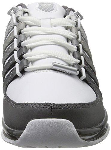 K-swiss Mens Rinzler Sp Sneaker White (sfumatura Bianco / Grigio)