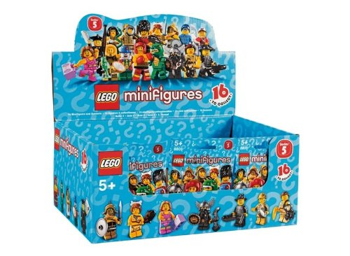 LEGO Minifigure Collection Series 5 Mystery Bag Box 60 Packs ()
