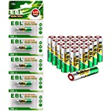 EBL A23 23A GP23AE MN21 23GA 12V Alkaline Battery for Keyless Entry(20pcs)