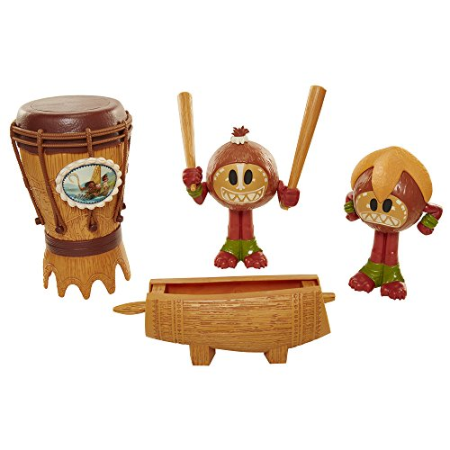 Disney Moana's Kakamora 6-Piece Percussion Set