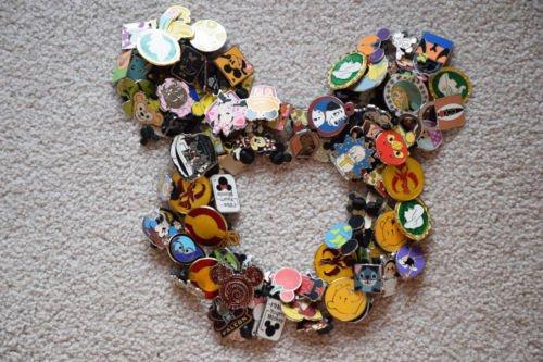 Disney Hidden Disney Pin - DISNEY trading PIN LOT 50 FAST FREE USA SHIPPING Hidden Mickey RANDOM Star Wars