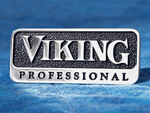 Viking Professional Metal Emblem (3 inch with Adhesive Back) (Vikings Appliances compare prices)