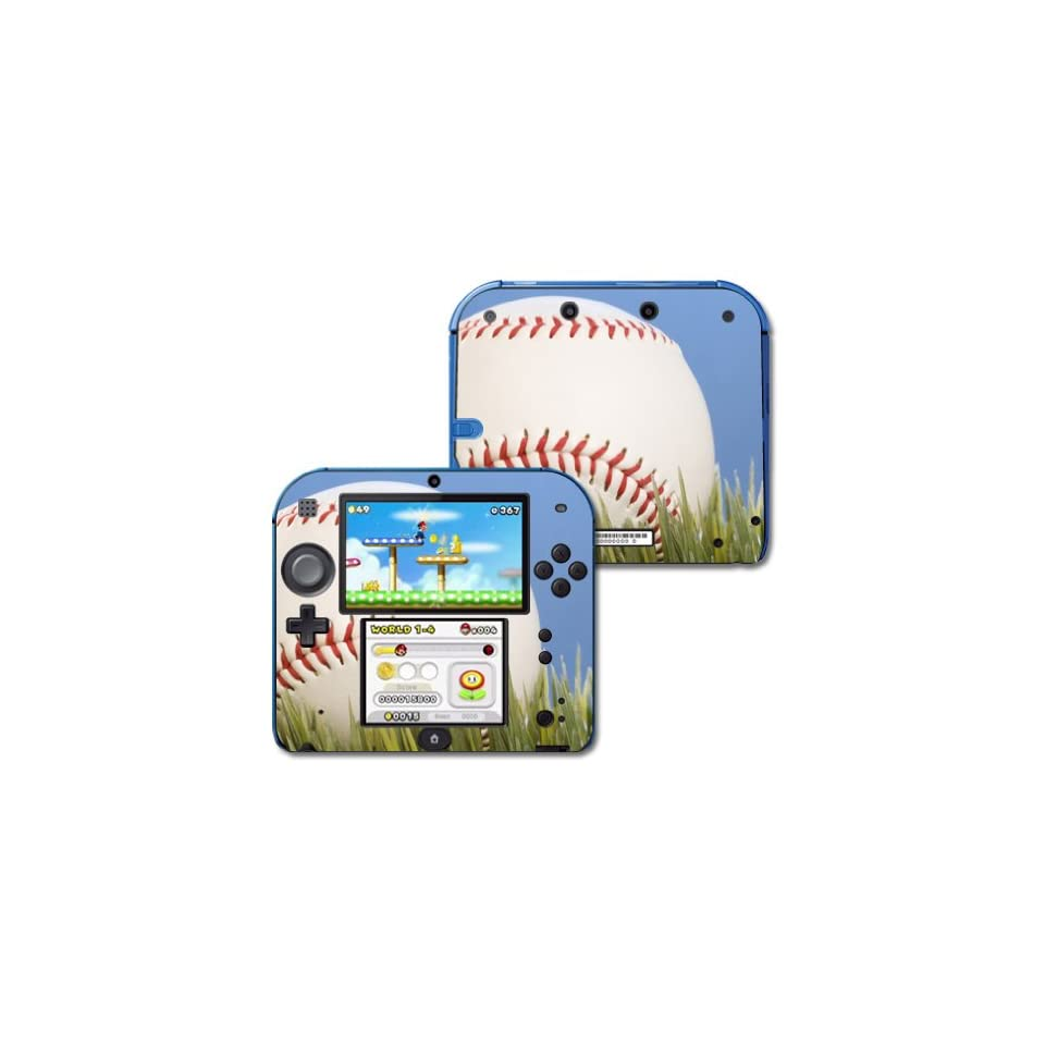 Mightyskins Protective Vinyl Skin Decal Cover for Nintendo 2DS wrap sticker skins Baseball