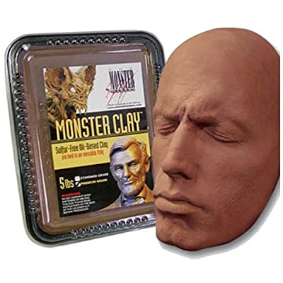 Monster Clay Premium Grade Modeling Clay (5lb) by Monster Clay