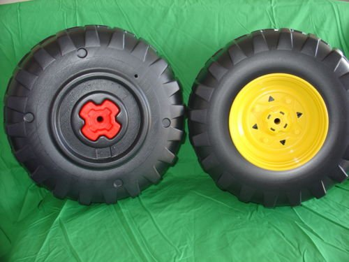 NEW Peg Perego Gator Set of 4 Wheels (Tires) NEW STYLE by TacParts