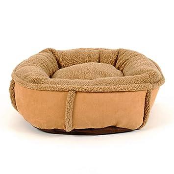 Cama perro Cama de Invierno para Mascotas | Sofá Cama ortopédico Estilo sofá Ultra para Perros y Gatos, marrón: Amazon.es: Hogar